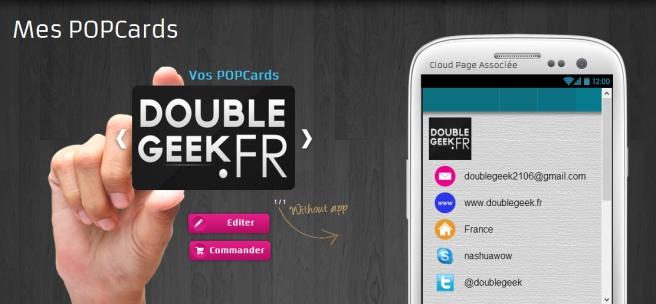 Carte NFC by PopWings