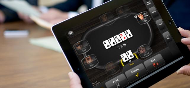 Casino sur tablette
