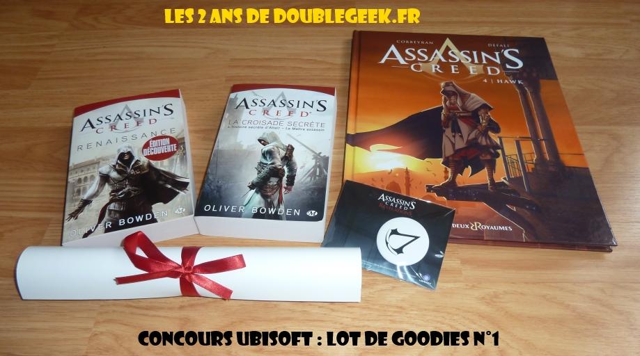 Concours Ubisoft