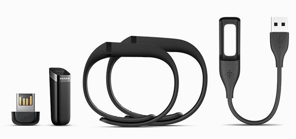 Contenu boite Fitbit Flex