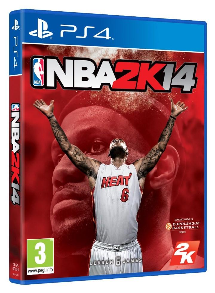Covers PS4 NBA2k14 (Personnalisé)