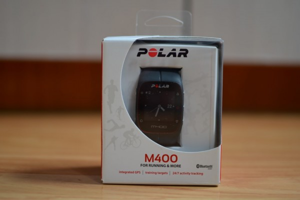 Test de la montre de sport, la Polar M400