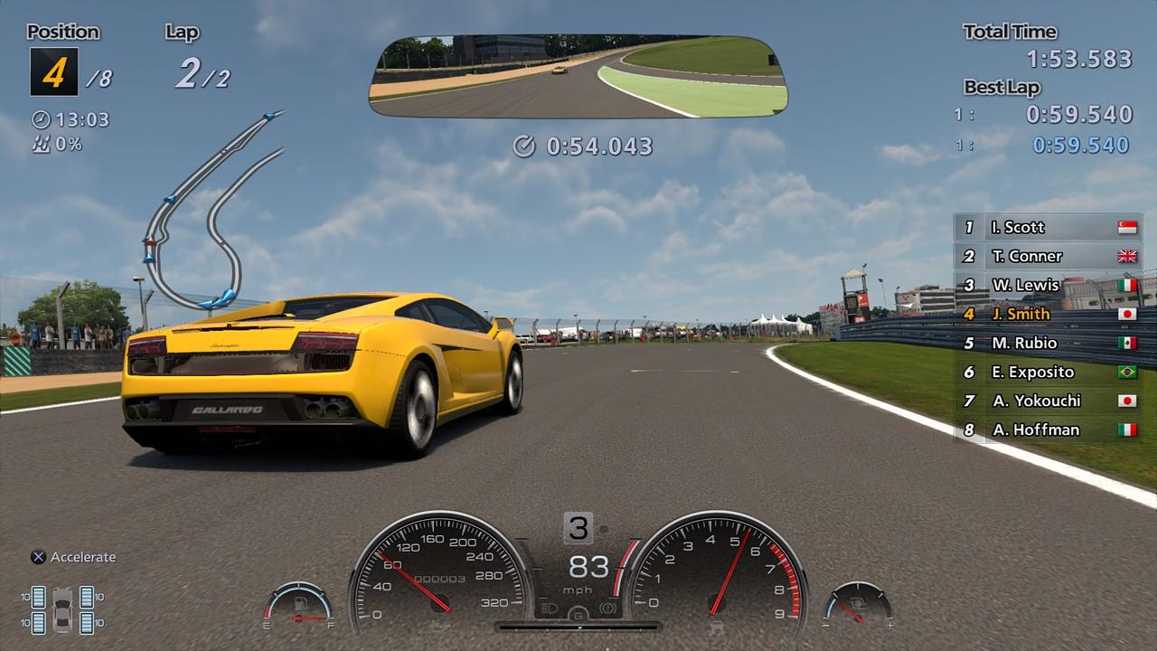 Gran Turismo 6-PS3 (Personnalisé)