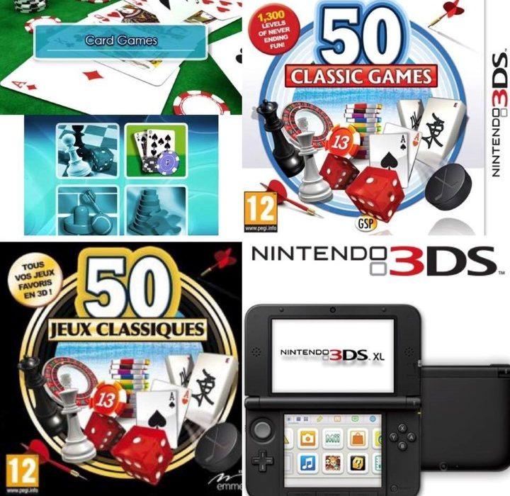 Jeux de casino 3DS (Personnalisé)