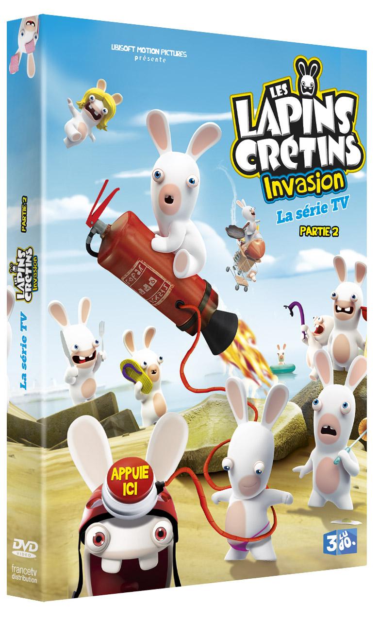 LAPINS CRETINS INVASION PARTIE 2 - 3D DVD - DEF copie