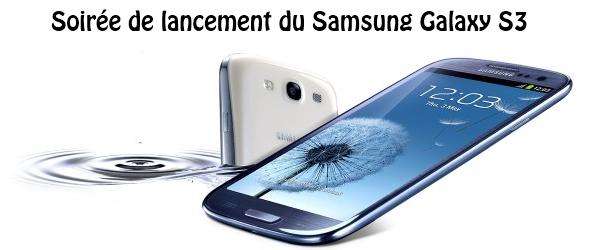 Lancement Galaxy S3
