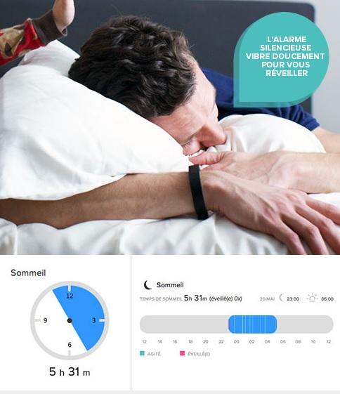 Sommeil Fitbit Flex