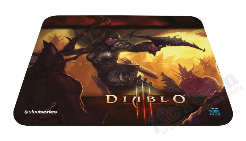 Tapis-de-Souris-Steelseries-QcK-Diablo-III-Demon-hunter
