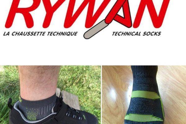 Test des chaussettes Atmo Trail Climasocks de la marque Rywan