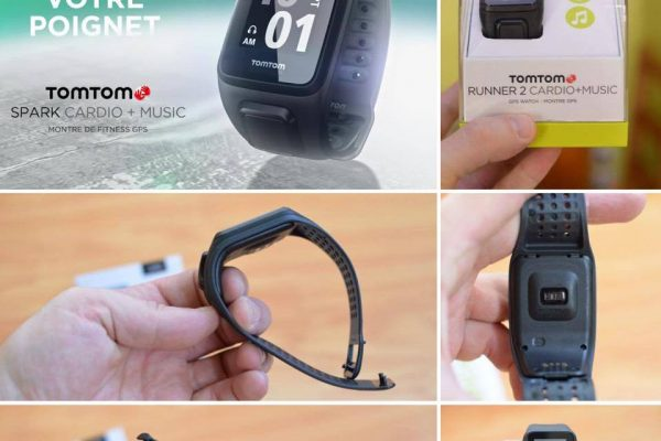 Mon avis sur la montre Tomtom Runner 2 Cardio+Music
