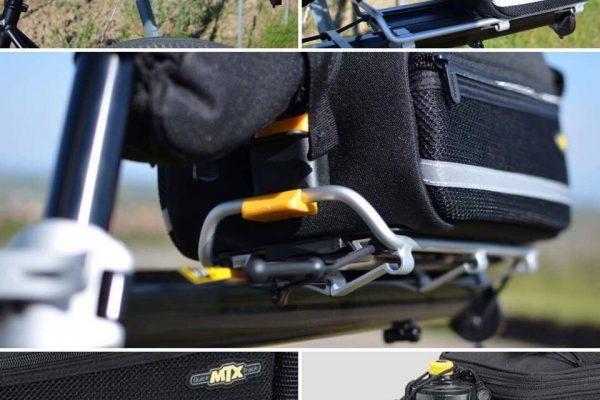 Mon avis sur le porte-bagages Topeak MTX Beamrack (E-Type) + la sacoche TrunkBag EX