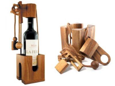 Wine Bottle Puzzle 010 (Personnalisé)