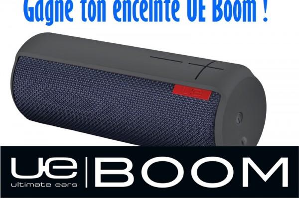 Gagne une enceinte UE Boom de Ultimate Ears -Terminé-