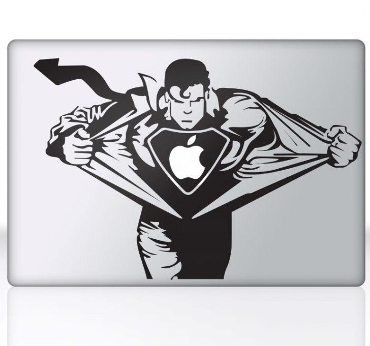 sticker-mac-apple-superman-412 (Personnalisé)